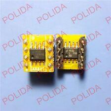 1PCS Dual to Mono LME49990MA (2PCS) installed on 1pcs Dual to Mono OPamp PCB