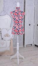 Schneiderbüste Great Britain Mannequin Schneiderpuppe Englische Büste Torso