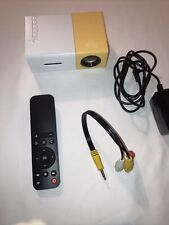 New listing Mini Projector, Meer Portable Pico Full Color Led Lcd Video Projector