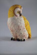 BARN OWL MODEL, POLYRESIN ORNAMENT, GREAT GIFT FOR BIRD LOVERS - SECRET SANTA?