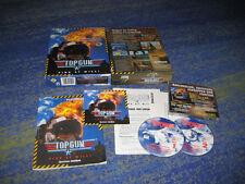 Top Gun: Fire at Will! PC Erstausgabe BIG BOX Deutsch Sammler