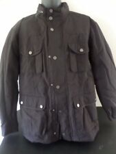 Black Brown 1826 - Black Flight/Military/Bomber Jacket   - MEN XLarge