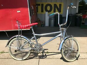 Lowrider Custom Bicycle *From Estate Collection *Chrome Muscle Super Neat!!