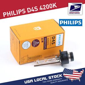 1Pcs Philips D4S Standard Authentic Xenon HID Headlight Bulb 42V 35W 42402VIC1