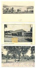 DUTCH INDIES NED INDIE -INDONESIA 3 x OLD PPC --F/VF ---@3