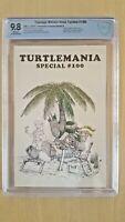 Teenage Mutant Ninja Turtles #100 CBCS 9.8 Turtlemania Special Homage !