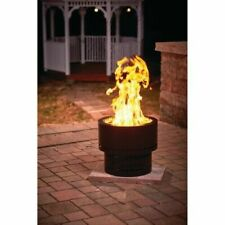 "New listing Flame Genie Inferno Wood Pellet Fire Pit Fg-19 - 19"" x 16.25"" Round Steel Black"