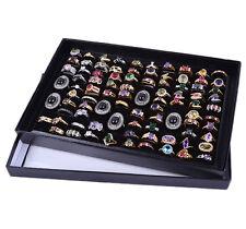 Jewelry Earring Ring Display Organizer Box Tray Holder Storage Show Case Box