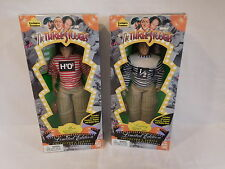 The Three Stooges Moe, Larry 1996 Collectors Series Limited Pigskin Doll Rare