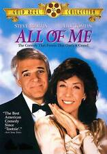 ALL OF ME Movie POSTER 27x40 B Steve Martin Lily Tomlin Victoria Tennant Madolyn
