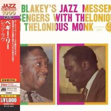 Art Blakey And Thelonious Monk - Art Blakey's Jazz Messengers With Th (NEW CD)