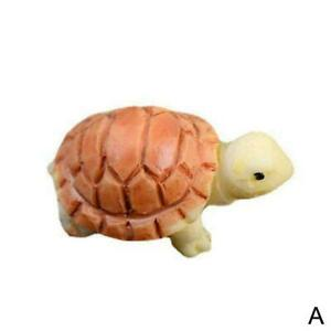 Little Turtle Floating Resin Statues Water Garden Decor Figurines Pond New R0O6