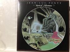 Limited Rare CD sleeve JEAN-LUC PONTY A Magical Adventures RHYTHMS OF HOPE jig