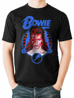 David Bowie Kamon Circle T-Shirt Official Aladdin Sane Mens Black M L XL NEW