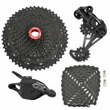 SRAM GX Eagle 12 Spd Groupset YBN Chain Black & SunRace Cassette,Trigger Shifter