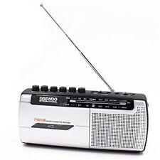 Radio cassette Daewoo Drp-107 plateado