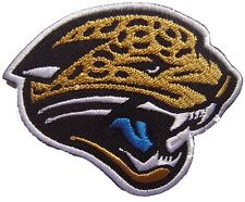 New NFL Jacksonville Jaguars embroidered iron on patch. 3 x 2.5 inch (i48)