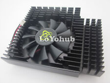 XFX HD5550 HD5570 graphics card Fan with Heatsink 2-Pin