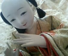 Antique Ningyō Japanese Doll Male Japan Asian Dolls Traditional Costume Hina