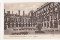 Middlesex, Hampton Court Palace, Fountain Court Postcard, A848