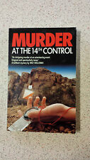 MURDER AT THE 14TH CONTROL and other short stories WILF HOLLOWAY PB 1986