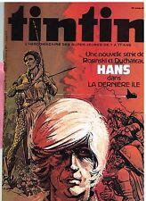 B17- Tintin N°256 hans