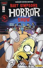 Bart SIMPSONS Horror Show #17 VARIANT COVER lim.999 ex. firmato Bill Morrison