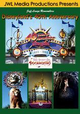 Disneyland 40th Anniversary DVD Lion King Parade, Indiana Jones Adventure