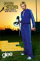 GLEE ~ SUE SYLVESTER ~ THE SMELL OF FAILURE ~ 24x36 TV POSTER FOX Jane Lynch