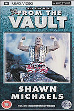 SONY PSP UMD  : WWE : FROM THE VAULT : SHAWN MICHAELS        1P Auction