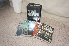 THE WIRE: The Complete Series 1-5 (DVD, 2008, 24-Disc Set, Box Set) Crime Drama