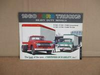 1960 Ford Heavy Duty Trucks Sales Brochure   Original F700 F750 C700