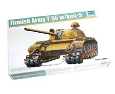Trumpeter 1/35 00341 Finnish Army T-55 with KMT-5