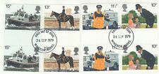 (49452) GB Used GUTTER PAIRS Police 1979 ON PIECE