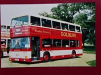 PHOTO  READING TRANSPORT LEYLAND ONLXCT/1RH BUS NO 81 REG D81 UTF