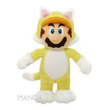 """NINTENDO New Super Mario Bros. U Mario """" Cat Ver."""" (S) Plüschfigur 100% Original"""