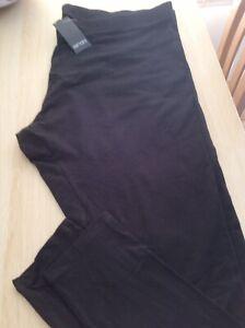 Esmara Black Leggings BNWT Size 26/28 XXL.
