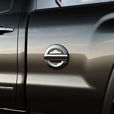 """GM# 23441975 Chrome Gas Fuel Door for 2014-Up Silverado or Sierra 6'6"""" or 8' Bed"""
