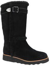 Coach Women's Belmont Cold-Weather Boots BLACK Size 9.5 M