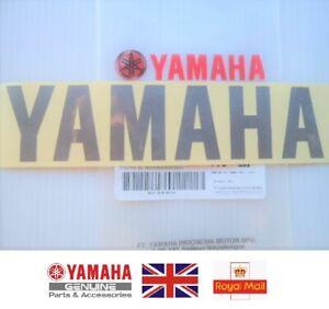 GENUINE Yamaha Fairing Belly Pan Sticker Decal SILVER YZF125 R3 R6 R1 FAZER