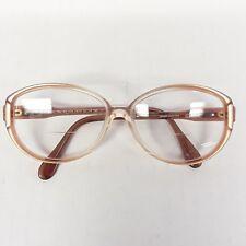 Vintage Silouette Eyeglasses Frames Austria 52-14-130 Copper ombre plastic Mod