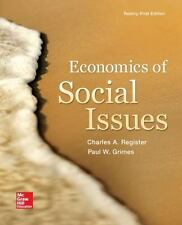 Economics of Social Issues by Ansel Miree Sharp, Paul W. Grimes and Charles A. R