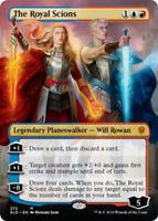The Royal Scions - Foil - Borderless x1 Magic the Gathering 1x Throne of Eldrain