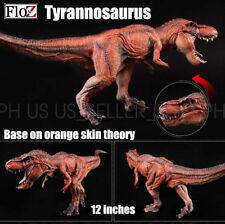 Floz Tyrannosaurus T-rex Dinosaurs base on orange skin theory figure model