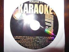 Karaoke Hits Vol  11 ( Oldies,Pop, Country ) Karaoke CDG
