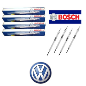 KIT 4 CANDELETTE BOSCH VW GOLF V 1.9 TDI mot BKC-BLS-BXE