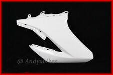 YAMAHA WR125 WR125X WR125R RIGHT RADIATOR SIDE PANEL COVER FAIRING SCOOP - WHITE