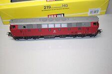 Brawa 0433 Diesellok Baureihe 219 Regentalbahn ohne Motor Wechselstrom Spur H0 O