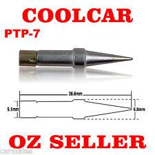 Solder Soldering Station Tip PTP-7 for Weller TCPS TCP 12 TCP 24 TCP-42 TCP-48