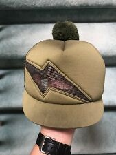 Obey Hat Military Green Trucker Pom Pom Vintage 2003 Rare